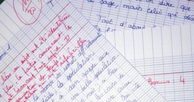 La pression du système scolaire  en France